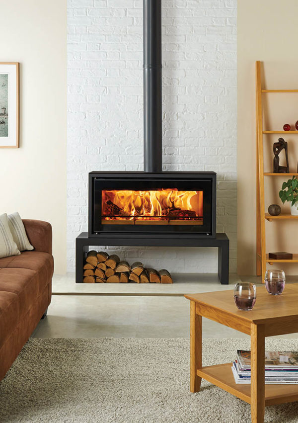 Studio 2 Freestanding Wood Burning Stove Grate Expectations